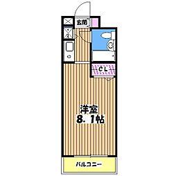 ジョイフル武蔵関弐番館[1階]の間取り