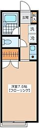 ビリーメンハイム[2−C号室]の間取り