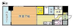 FERIO Kiyomizu (フェリオ清水)[7階]の間取り