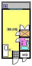 瀬田エステートシティ[403号室]の間取り