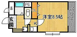 エトワールブリヤン[5階]の間取り
