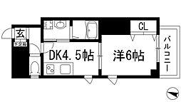 逆瀬川コート[3階]の間取り