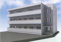 ウィステリアヤハギ2番館[2階]の外観