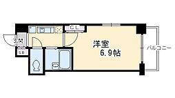 プレサンス京都二条城前[306号室号室]の間取り