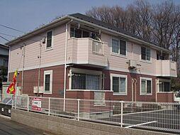 東京都国分寺市西町5丁目の賃貸アパートの外観