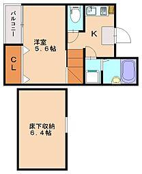 シャトレ井尻グランアヴァンセ[2階]の間取り