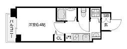 スワンズ京都七条リベルタ[7階]の間取り