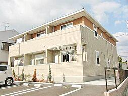 岡山県岡山市中区海吉丁目なしの賃貸アパートの外観