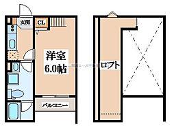 SarangMito(サランミト)[2階]の間取り
