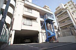 白金コーポ[3階]の外観