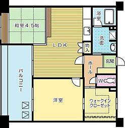 リバティガーデン熊本[402号室]の間取り