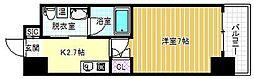 パウゼ東天満[10階]の間取り