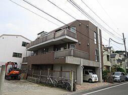 東京都世田谷区上祖師谷6丁目の賃貸マンションの外観