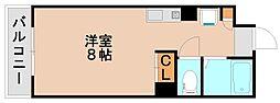 シティベール松山[3階]の間取り