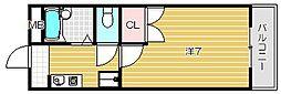 末広15番館[3階]の間取り