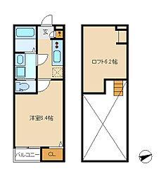 CASA MIYASHITA[1階]の間取り