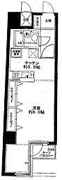 神奈川県横浜市保土ケ谷区帷子町1丁目の賃貸マンションの間取り