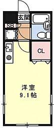 ライオンズマンション京都西洞院[206号室号室]の間取り