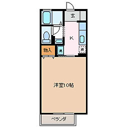 メゾン・コスモス[1階]の間取り