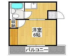 小路東ハイツII[3階]の間取り