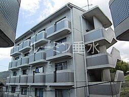 サンハイツ多井田D棟[3階]の外観