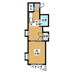 サンシャイン小泉[4階]の間取り
