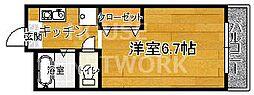稲井ハイツ北山[303号室号室]の間取り