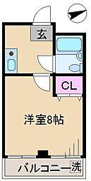 第一金井ビル[3階]の間取り