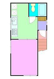 フェリシア目黒[1階号室]の外観