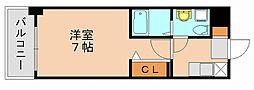 パンルネックスクリスタル博多駅南2[2階]の間取り