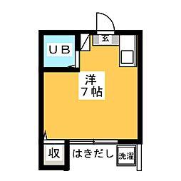 Kコーポ[1階]の間取り