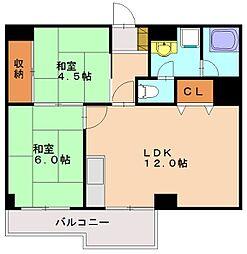 築地第1ビル[5階]の間取り