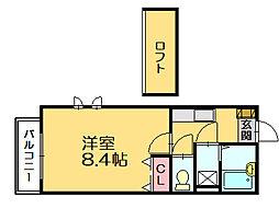 ビクトリーパティオ[1階]の間取り