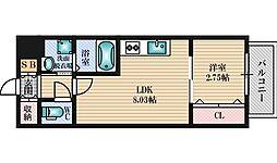 modern palazzo 江坂 AXIA1[2階]の間取り