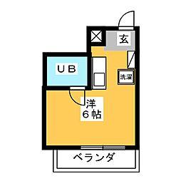 カーサ・ビアンカ  白い家[1階]の間取り