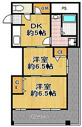 ユーマンション千島[3階]の間取り