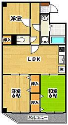 アメニティー宮崎[3階]の間取り