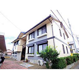 静岡県焼津市東小川の賃貸アパートの外観