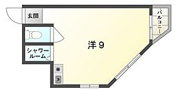 グローバル守口II[2階]の間取り
