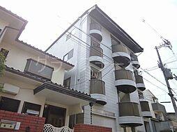 大阪府大阪市旭区高殿4丁目の賃貸マンションの外観