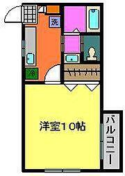 小川コーポ8[201号室]の間取り