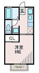 ijハウス山王坂公園[2階]の間取り