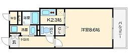 KAISEI本町東[5階]の間取り