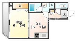 坂上コーポラス[2階]の間取り