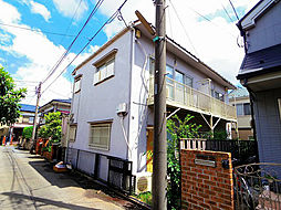 東京都東久留米市前沢2丁目の賃貸アパートの外観