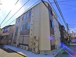 東京都足立区足立4丁目の賃貸アパートの外観