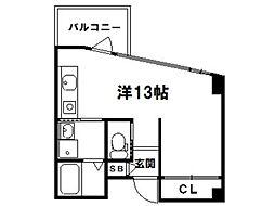 COCOTTE[3階]の間取り