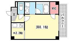 レグルス芦屋[2階]の間取り