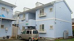 福岡県糸島市前原駅南1丁目の賃貸アパートの外観