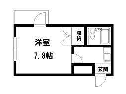 ルネット御所[2階]の間取り